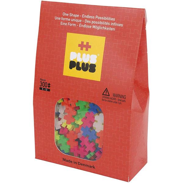 Plus Plus - Plus-Plus Pack Mini Neon 300 pcs