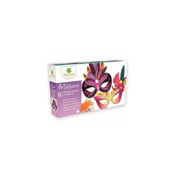 Au Sycomore - Artissimo - Masque a gratter