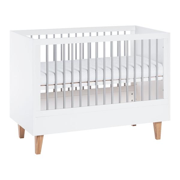 Vox - Lit bébé 60x120 Concept - Blanc
