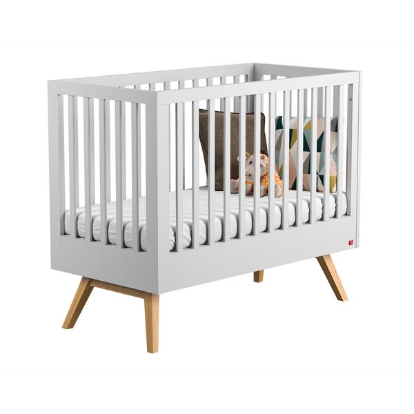 Vox - Lit bébé 60x120 Nautis - Blanc