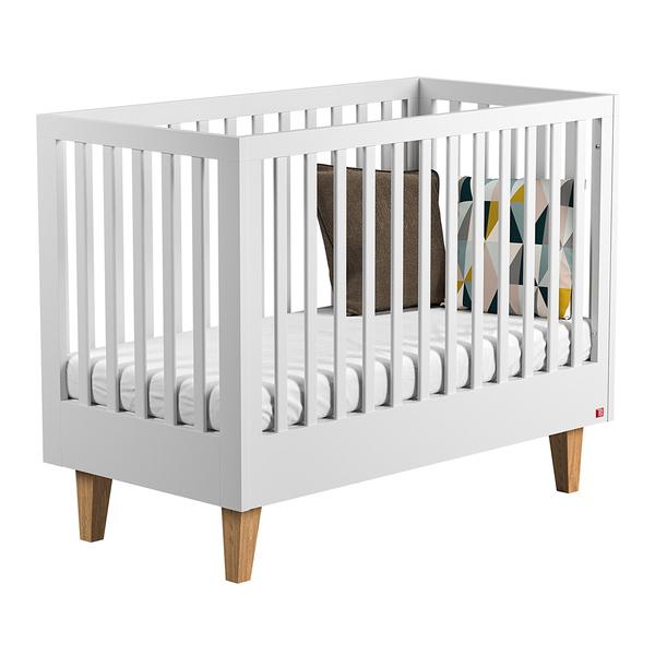 Vox - Lit bébé 60x120 Lounge - Blanc