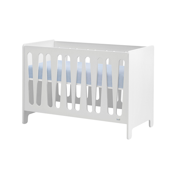 Pinio - Lit bébé 60x120 Moon - Blanc