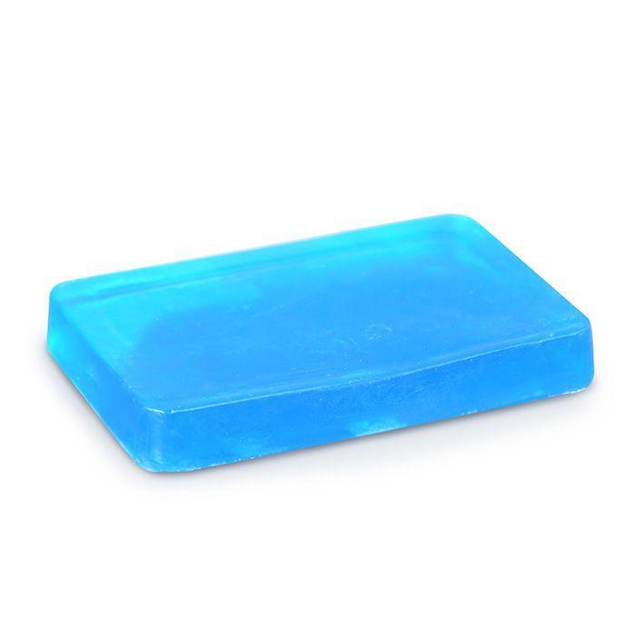 Graine Creative - Pain de 100 grs de savon translucide bleu
