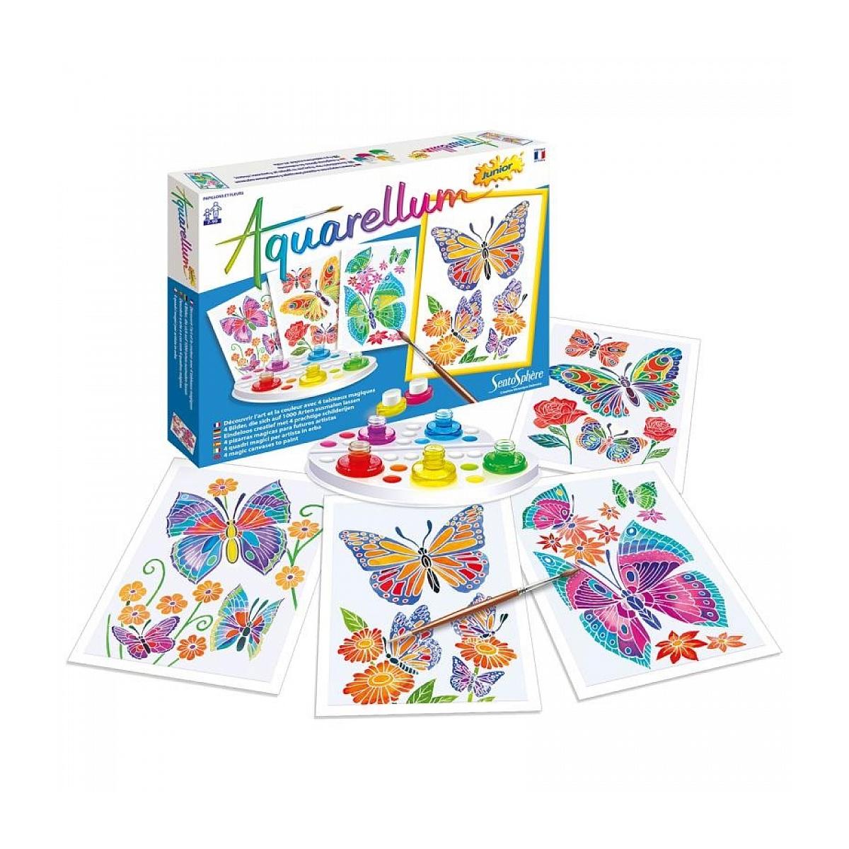 Sentosphere - Aquarellum Junior Papillons et Fleurs