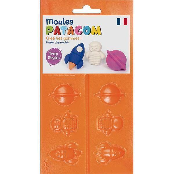 Graine Créative - Moules pour gomme à modeler Patagom - Cosmos
