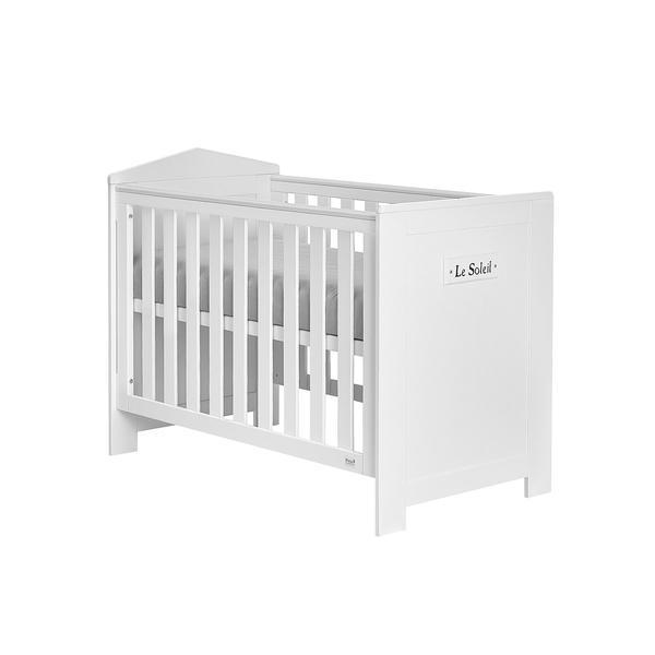 Pinio - Lit bébé 60x120 Marsylia MDF - Blanc