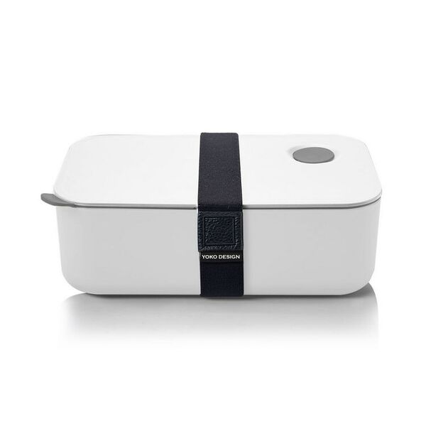 Yoko Design - LUNCH BOX 1 ETAGE COLORIS BLANC  1000 ml