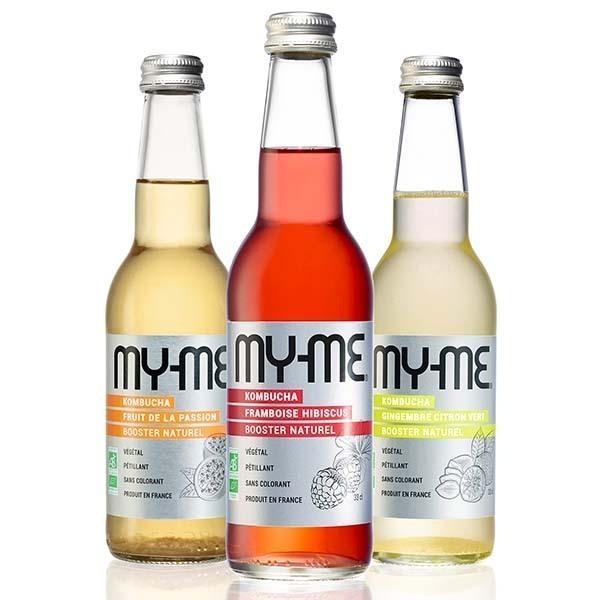 MY-ME - Pack de 12 kombucha mix - 33 cl