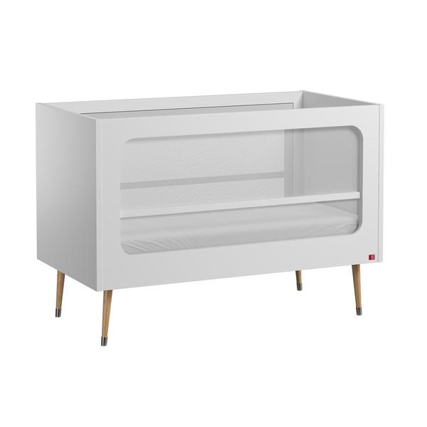Vox - Lit bébé 60x120 Bosque - Blanc