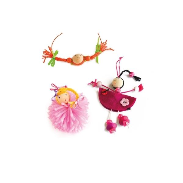 Au Sycomore - Lovely Box poupees perles PM
