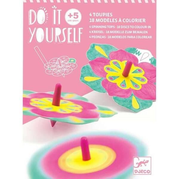 Djeco - Toupies Fleur