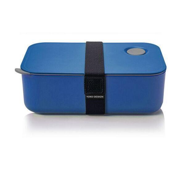 Yoko Design - LUNCH BOX 1 ETAGE COLORIS BLEU 1000 ml
