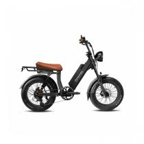 Onemile - Velo Electrique Speedbike  Scrambler V Noir Homologué Route EEC