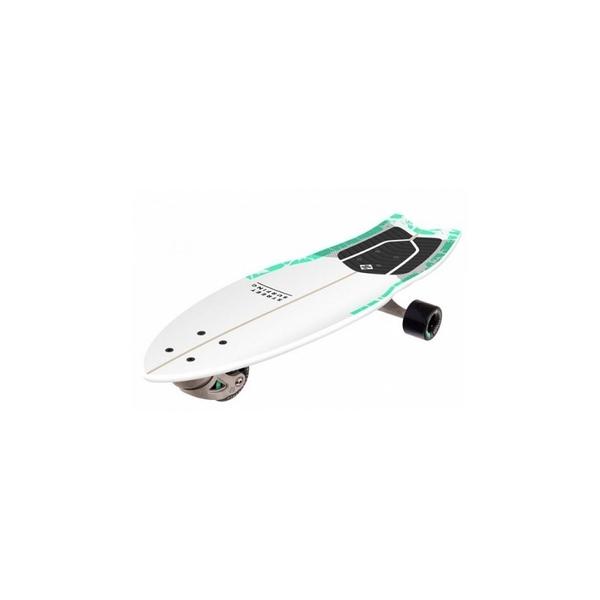 """Street Surfing - Surfboard  Shark Attack 30"""" psycho green"""