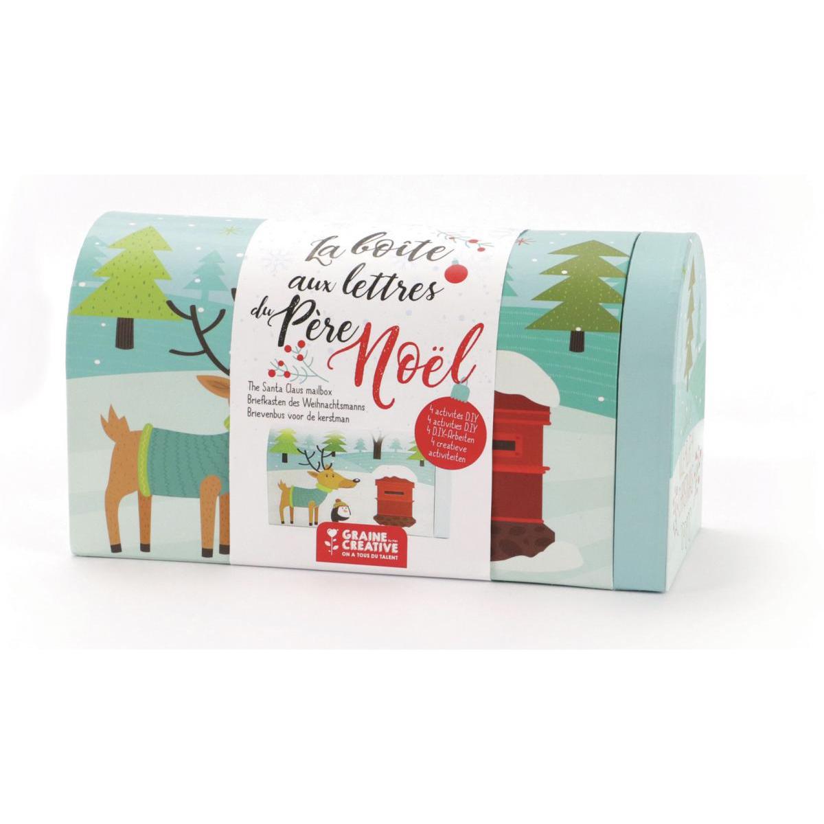 Graine Créative - La boite aux lettres du pere noel