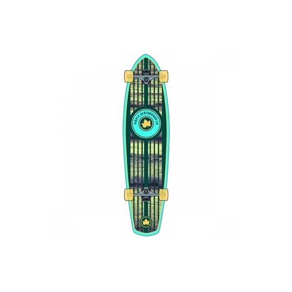 "Maple SK8 - Skate  Longboard 36"" Plank Shore Crash"