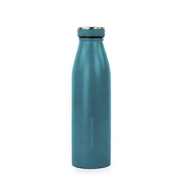 Yoko Design - Bouteilles isothermes Milk 500ml Bleu