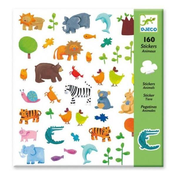Djeco - Stickers Animaux