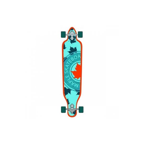 "Maple SK8 - Skate  Longboard Drop Through 41"" Mellow"