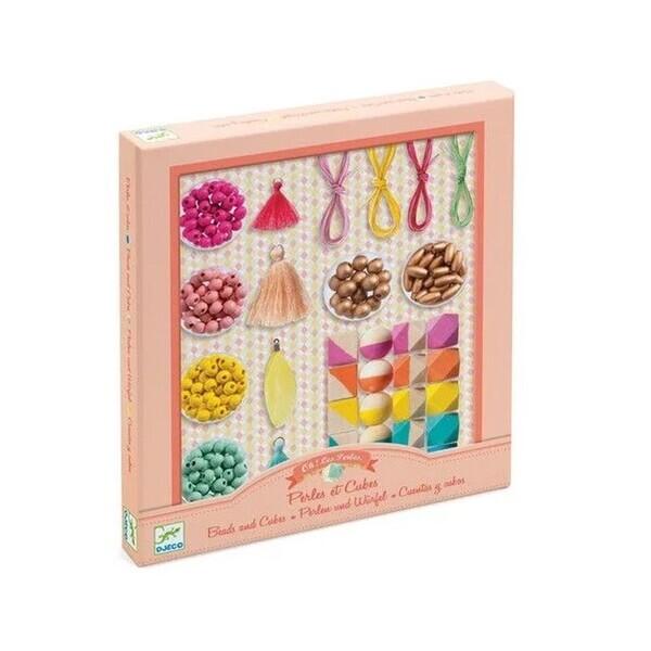 Djeco - Bijoux a creer perles et cubes