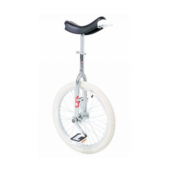 "Qu-ax - Monocycle   20""  Only One Chrome pneu blanc"