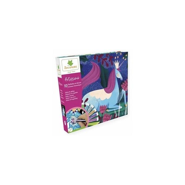 Au Sycomore - Artissimo - Paillettes  and  Dorures - Animaux Fantastiques