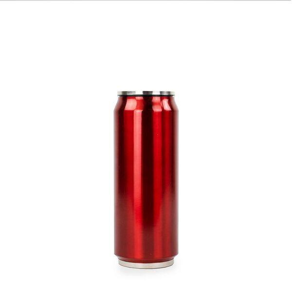 Yoko Design - CANETTE BRILLANT  ISOTHERME 500 ml COLORIS ROUGE