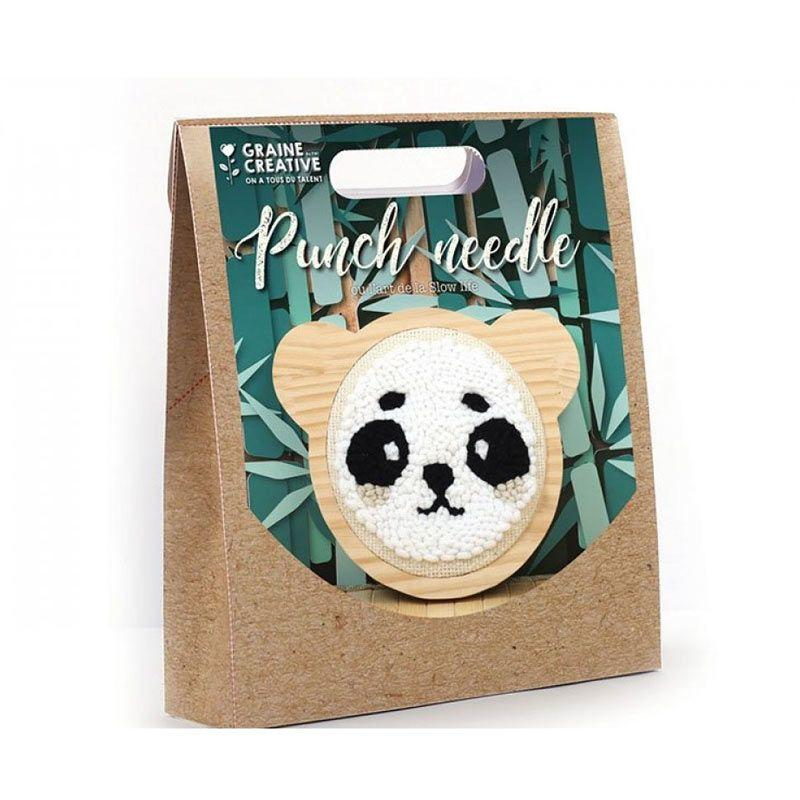 Graine Creative - Kit Punch Needle Panda
