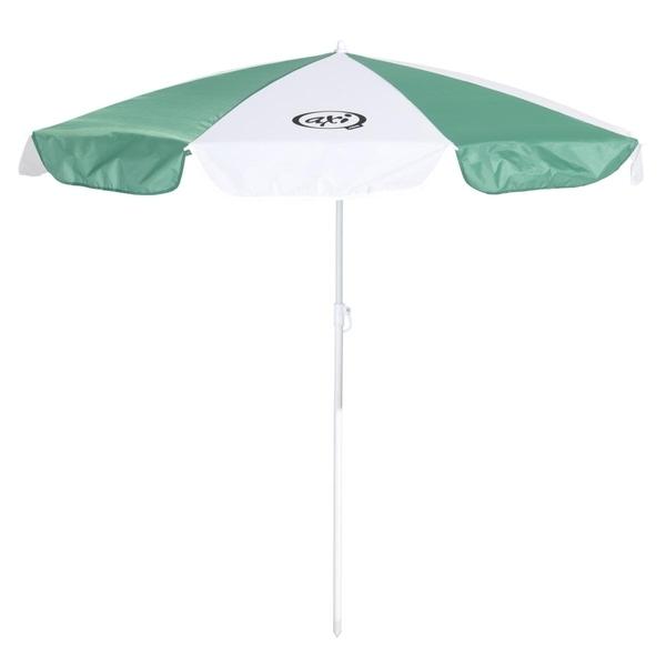 Axi - AXI Parasol Vert blanc diametre 125cm