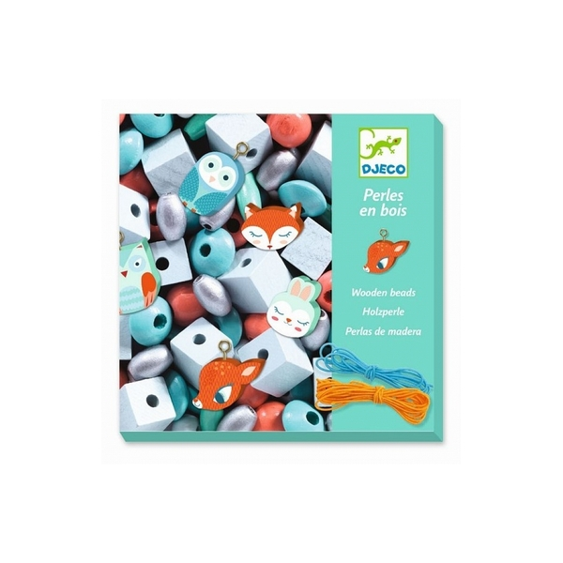 Djeco - Foison de Perles petits animaux
