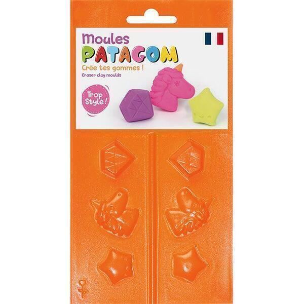 Graine Créative - Moules pour gomme à modeler Patagom - Licorne