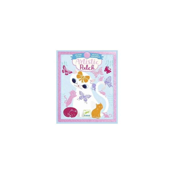 Djeco - Artistic Patch - Little pets