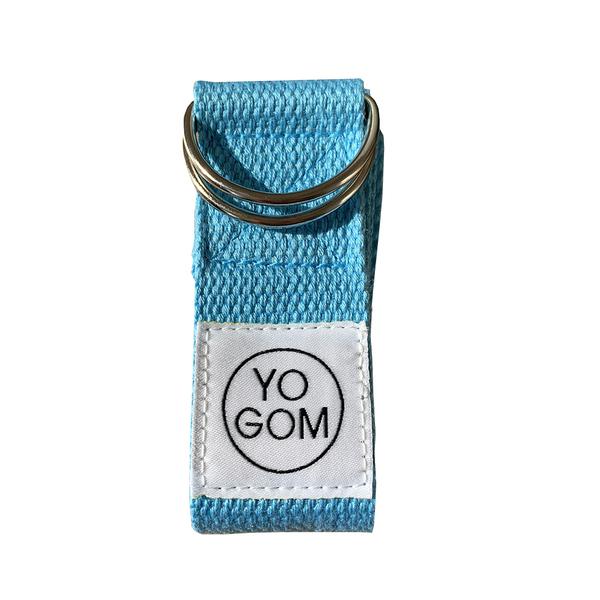Yogom - Sangle d'étirements bleu