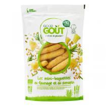 Good Gout - Mini-baguettes au fromage et au romarin 70g - Dès 10 mois
