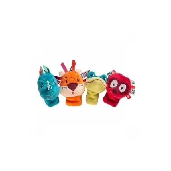 Lilliputiens - Marionnettes de doigt Jungle