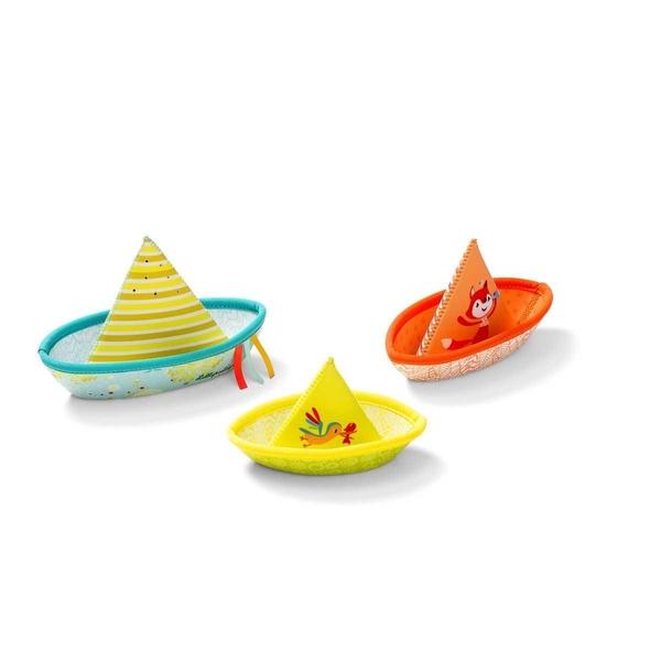 Lilliputiens - 3 bateaux flottants