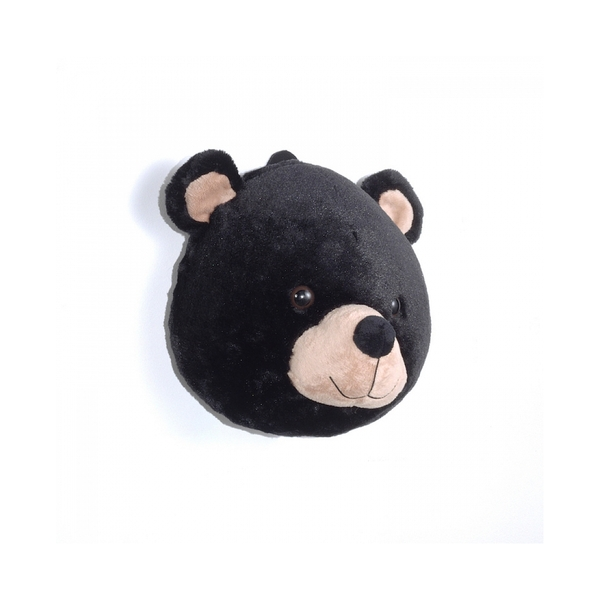 Vipack - Tete d'ours en peluche à accrocher au mur