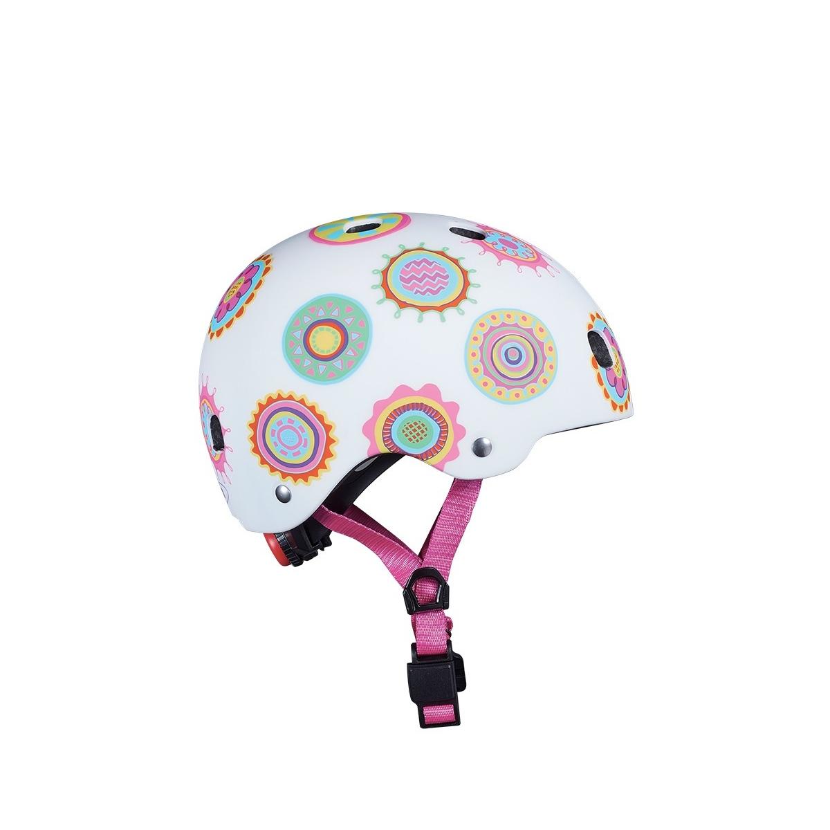 Micro - Casque Vélo et Trottinette Doodle Dots boucle magnétique