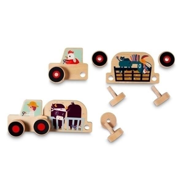 Lilliputiens - Tracteur set d assembalge