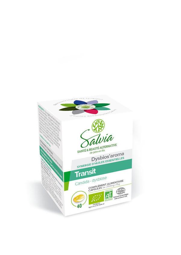 Salvia - Dysbios'aroma huiles essentielles bio 40 capsules