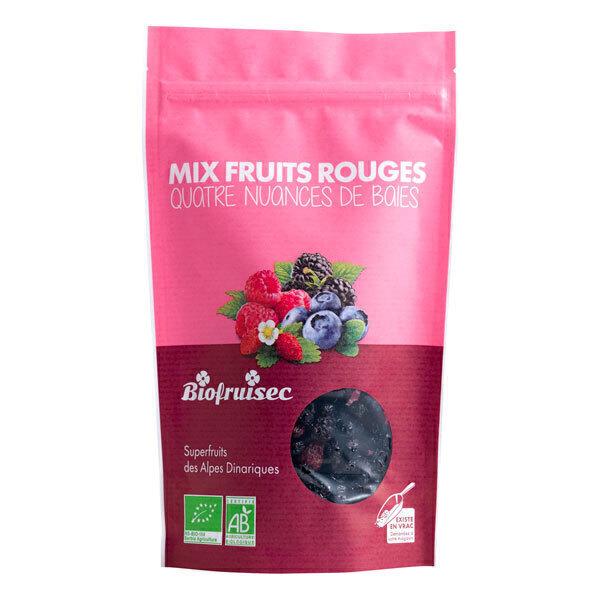 Biofruisec - Mix fruits rouges d'Europe séchés, sans sucres ajoutés 100g