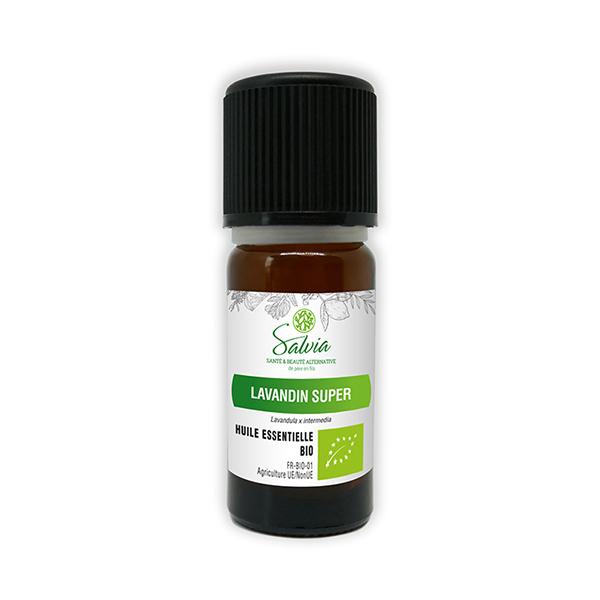 Salvia - Lavandin super - huile essentielle bio* - 10mL
