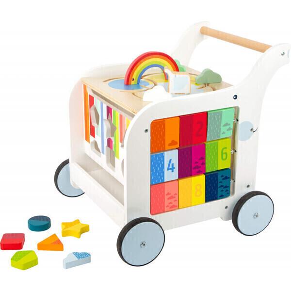 Small Foot - Chariot de marche complet pour bébé