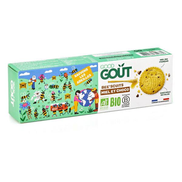 Good Gout - Bee'scuits miel et chocolat 100g - Dès 3 ans