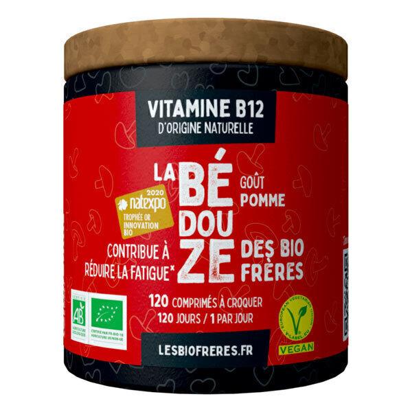 Les Bio Frères - La Bédouze goût pomme 120 comprimés à croquer