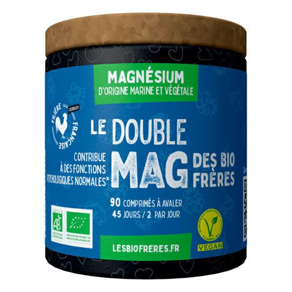 Les Bio Frères - Le Double Mag 90 comprimés à avaler