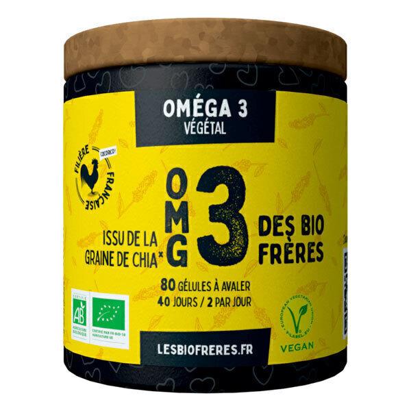 Les Bio Frères - OMG3 80 gélules à avaler