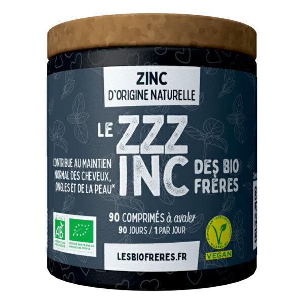 Les Bio Frères - Le ZZZinc 90 comprimés à avaler