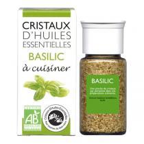 Aromandise - Cristaux d'Huiles Ess. Bio Basilic 20g