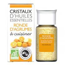 Aromandise - Cristaux d'Huiles Ess. Bio Ronde d'Agrumes 20g